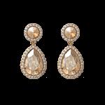 Carlotta Golden Shadow - Earrings