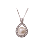 Emmylou Pearl Creme - Necklace