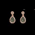 Miss Amy Black Diamonds - Earrings