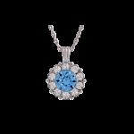 Sofia Light Sapphire - Necklace