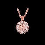 Sofia Silk Rose Gold - Necklace