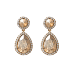 Carlotta Golden Shadow - Earrings